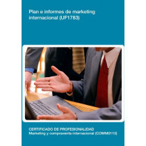 UF1783 - Plan e informes de marketing internacional.
